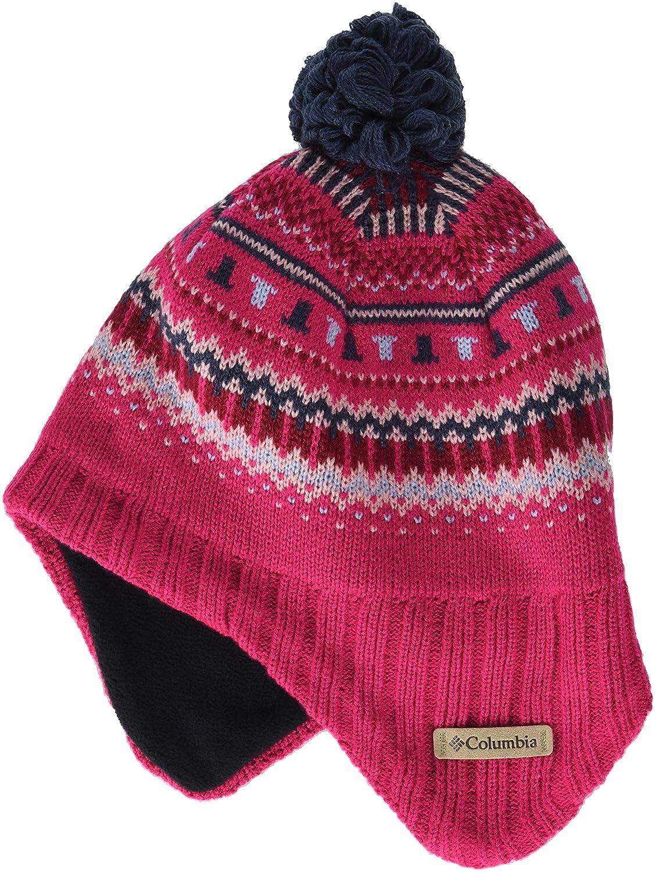 Acr/ílico Youth Winter Worn II Peruvian Talla /única Columbia Gorro para ni/ños 1806541