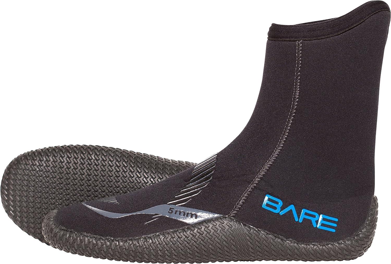 Bare 5 mm Bootユニセックス ブラック
