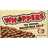 WHOPPERS Malted Milk Balls, 5 Ounce (Halloween Candy)