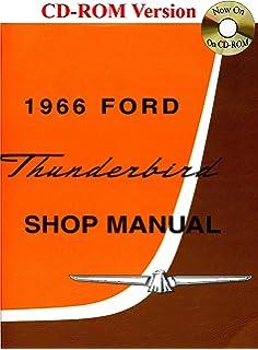 1966 Ford Thunderbird Shop Manual