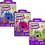 Kinetic Sand, 3 x 8oz Boxes of Moldable Sensory Play Sand