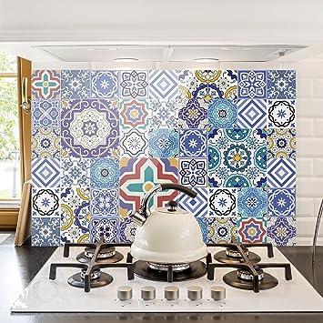 Bilderwelten Spritzschutz Glas Fliesenspiegel Aufwändige - Küche glasrückwand auf fliesen
