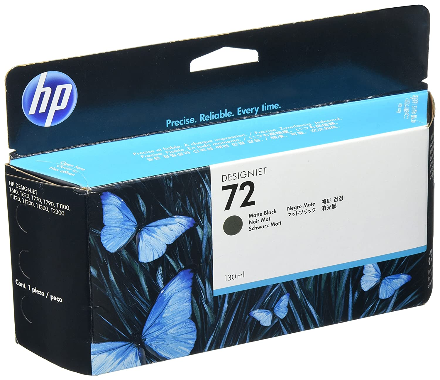 Amazon buy hp c9403a uk 72 130ml matte black ink cartridge amazon buy hp c9403a uk 72 130ml matte black ink cartridge printer cartridges online at low prices in india hp reviews ratings fandeluxe Choice Image