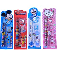 SR GIFTS Mix Stationery Kit Set for Kids Birthday Party Return Gifts (Pack of 24)