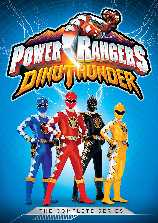 Power Rangers: Dino Thunder - The Complete Series 5 Dvd ...
