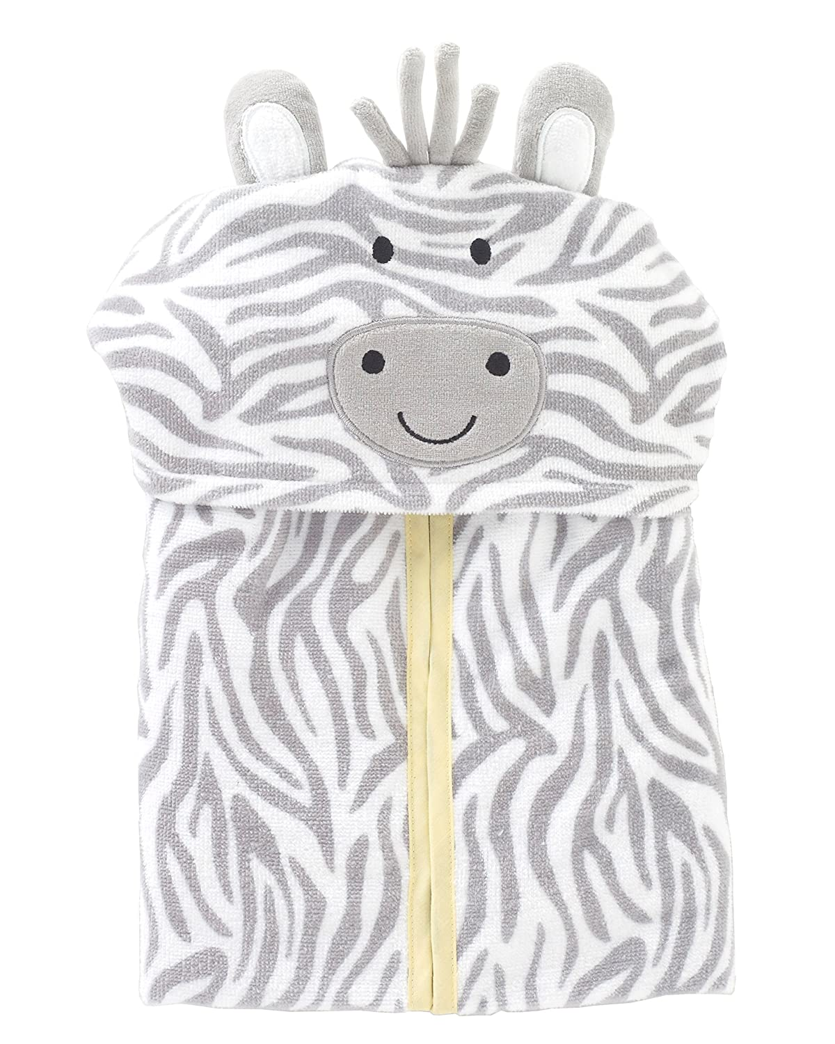 Just Born Welcome to the Circus Hooded Bath Wrap, Grey Triboro Quilt Mfg. Corp. 513211L