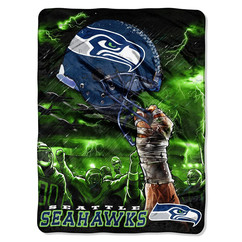 超可爱の NFLシアトルシーホークス60-inch-by-80-inch Plush Rachel Plush Blanket B0088ANRYK、スカイヘルメットデザイン B0088ANRYK, アケノマチ:84416c41 --- arianechie.dominiotemporario.com