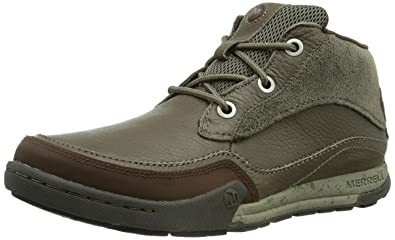 Merrell Mountain Kicks, Men's Speed Laces Hi-Top Trainer Shoes - Brown  (Falcon