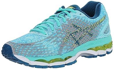 ASICS Women's Gel-nimbus 17 Lite-show Running Shoe, Aqua Splash/Silver