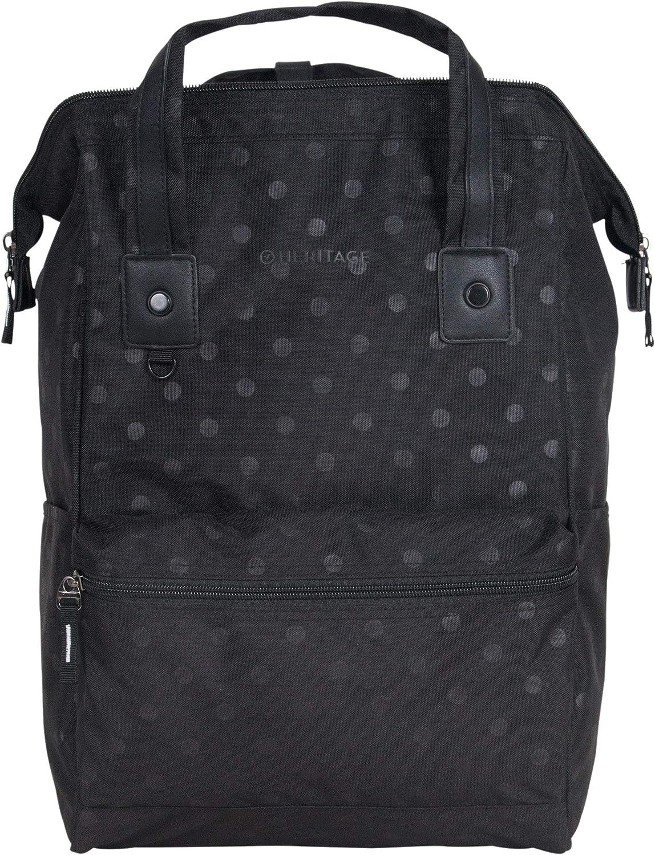 "Heritage Travelware Polka Dot Polyester 15"" Laptop Backpack"