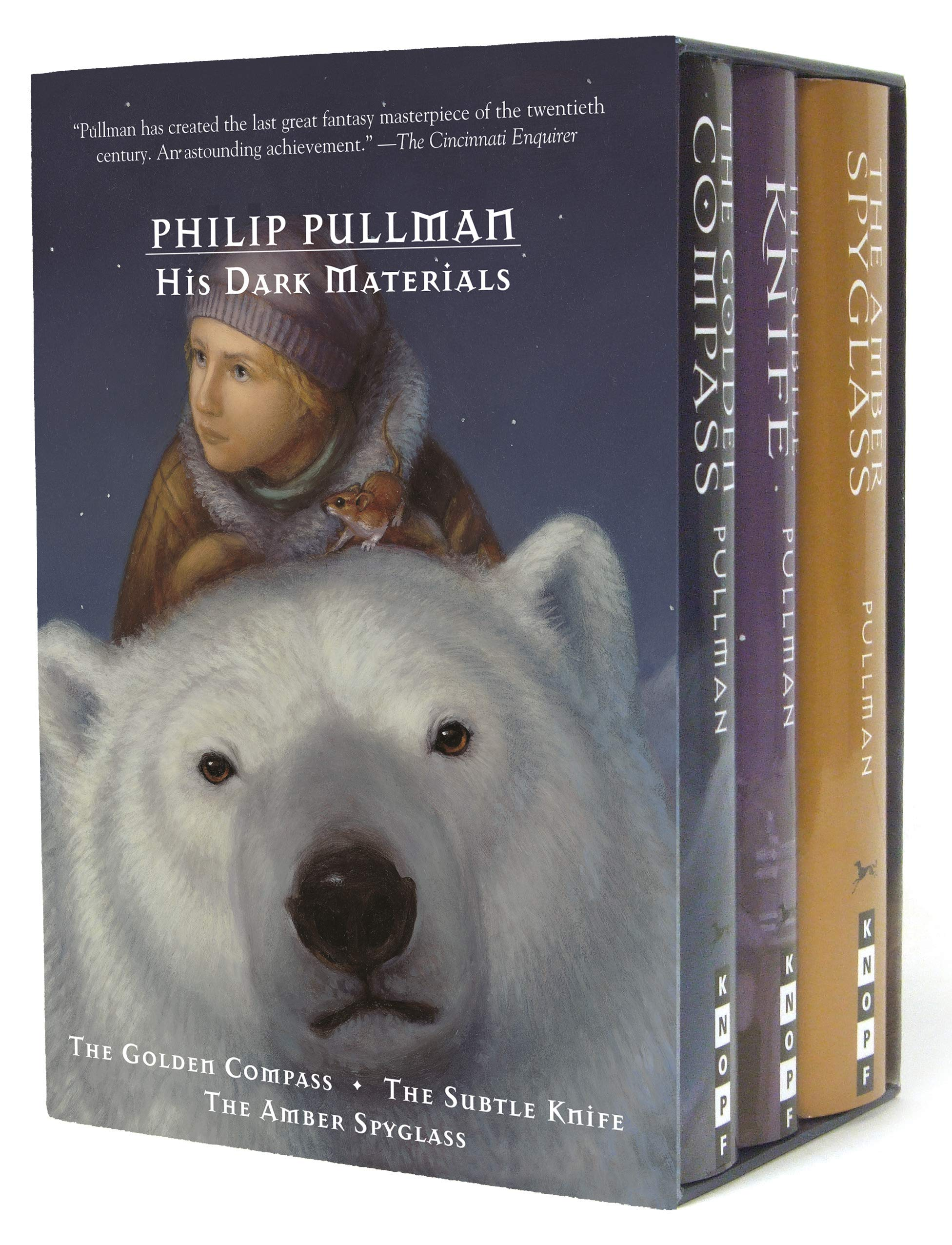 The Golden Compass / The Subtle Knife / The Amber Spyglass (His Dark Materials) by Pullman, Philip