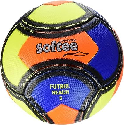 Softee Equipment 0000701 Balón Soccer Beach, Unisex, Blanco, S ...