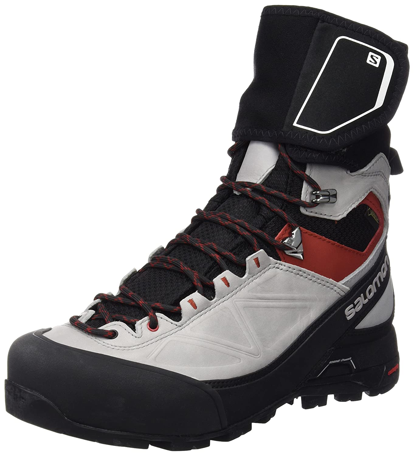 Salomon Men's X Alp Pro GTX Waterproof Hiking Boot B00KWKR4GG 8 D(M) US|Black / Light Onix / Flea