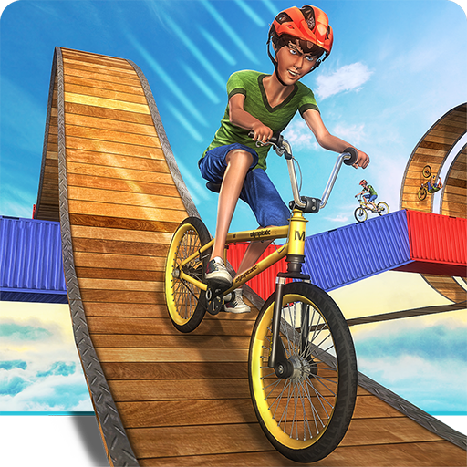 Impossible BMX Crazy Rider Cycle Stunt Games: Dirt Bike Racing Fever Pro Rush 3D Adventure Simulator 2018 (Impossible The Game)