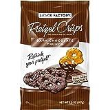 Snack Factory Pretzel Crisps Dark Chocolate Covered Pretzels 5.5 Ounce