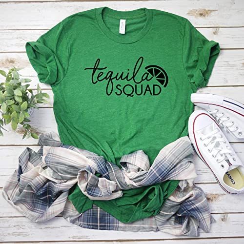 bdbc1b081 Amazon.com: Tequila squad friend matching cinco de mayo shirts funny  drinking shirts: Handmade