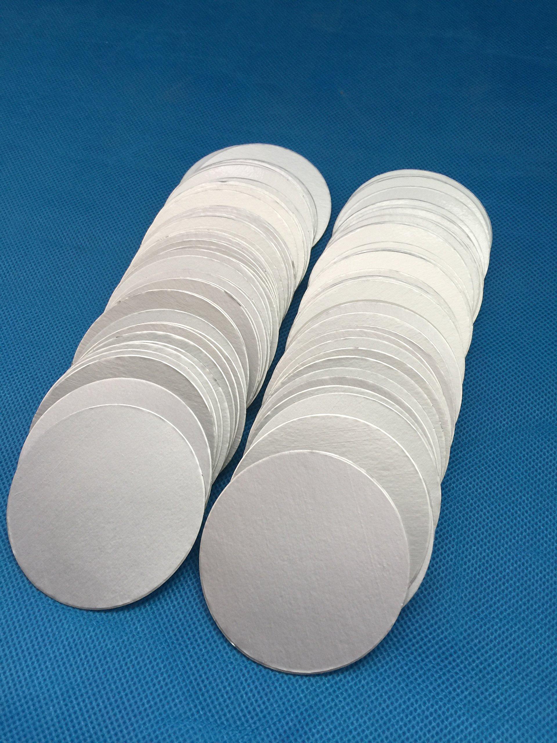 Uuni-WT HDPE bottle cap 77mm plactic laminated aluminum foil lid liners (5000pcs) by Bonny&T (Image #2)