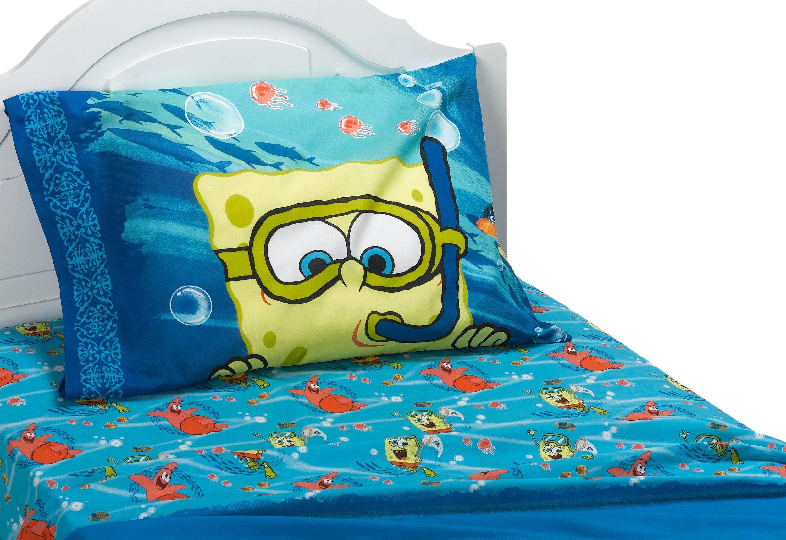 SpongeBob Sea Adventure Twin Sheet Set