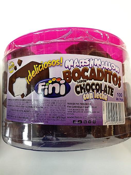 BOCADITOS MARSHMALLOW CHOCOLATE CON LECHE 100 UDS: Amazon.es: Alimentación y bebidas