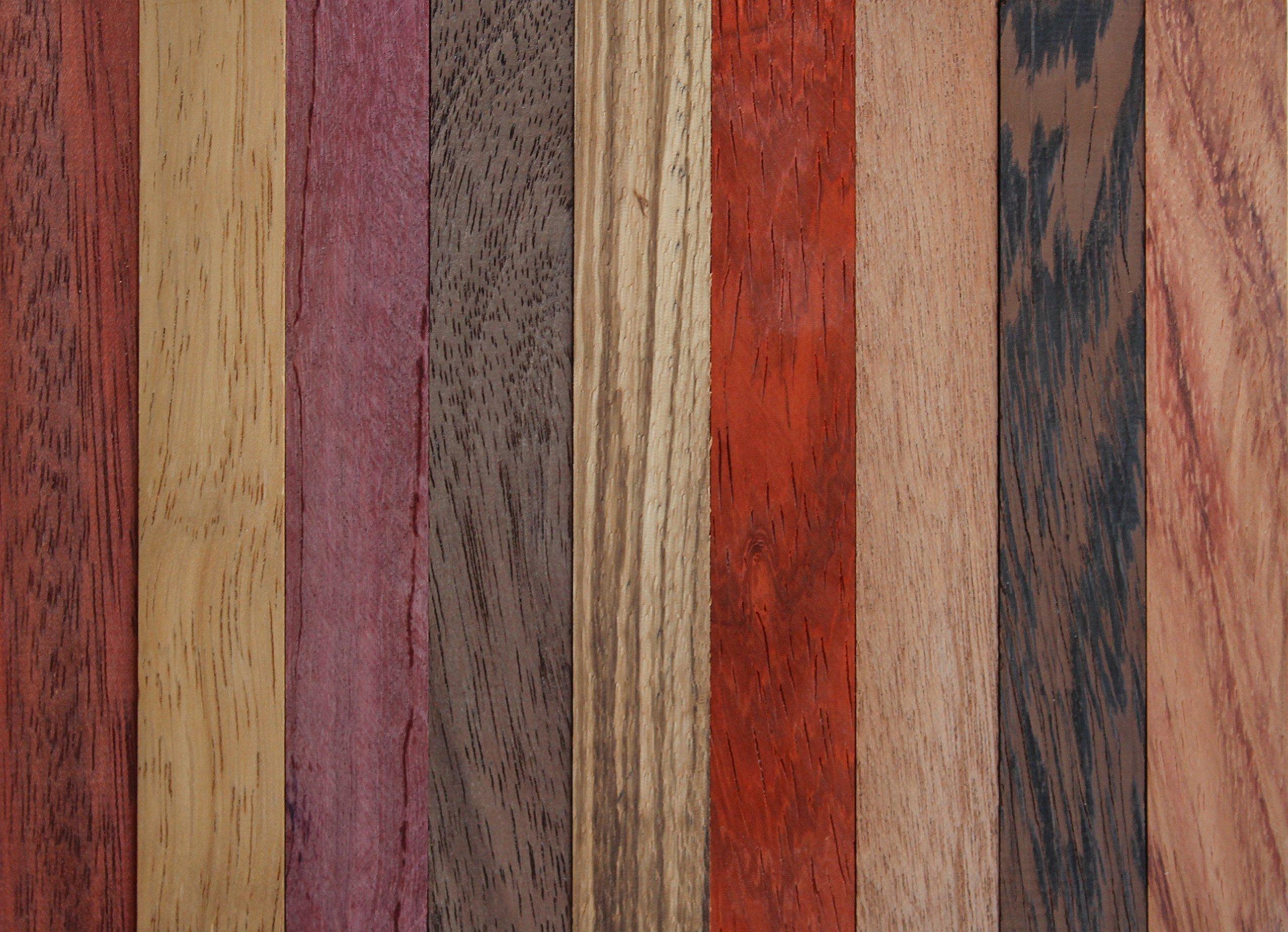 "Goncalo Alves//Tigerwood Ebony Wooden Pen Blank 3//4/"" x... Legacy Woodturning"