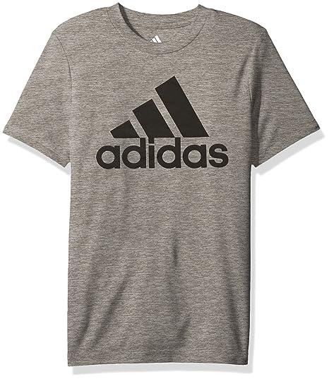2019 mejor venta últimas tendencias de 2019 nueva apariencia Adidas- Playera manga corta cuello redondo con logo, niños ...