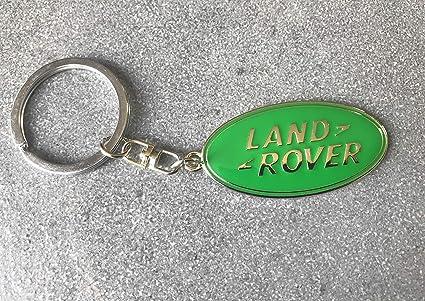 Porte-clés auto Llavero Logo Land Rover: Amazon.es: Coche y moto
