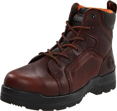 Rockport Work Men's RK6640 Work Boot,Brown Leather,6 ...
