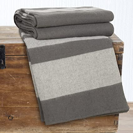 Amazon.com  Lavish Home Australian Wool Blanket - Full Queen ... 3861c7816