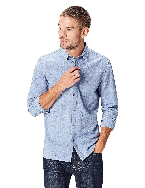 TALLA 54 (Talla del Fabricante: X-Large). FIND  Camisa Casual para Hombre