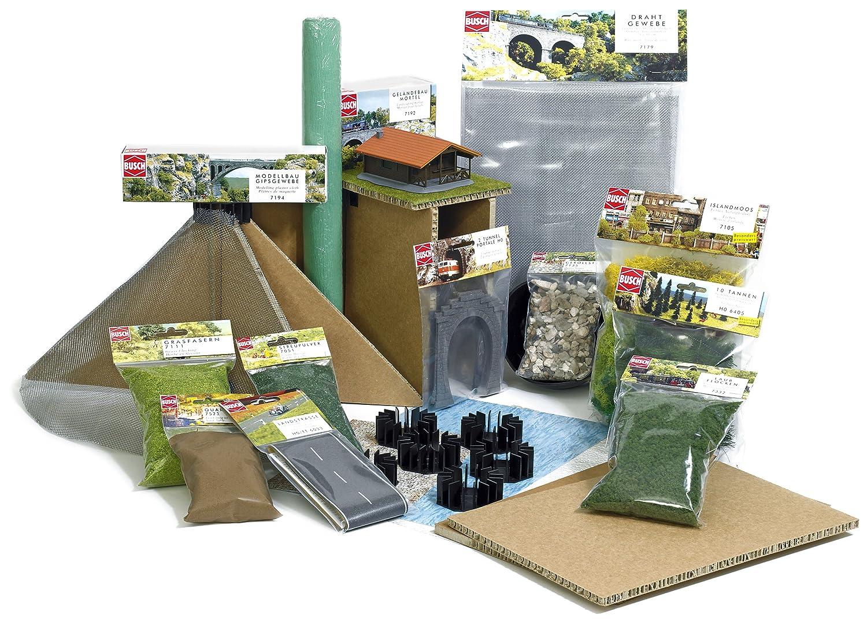 Busch 7188 Large Landscape Set HO Scenery Scale Model Scenery