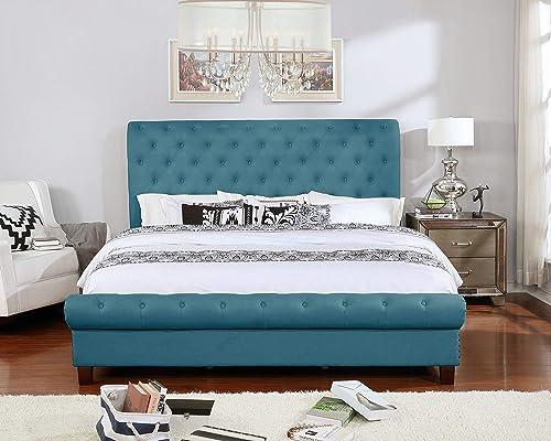 NHI Express Aidan Bed, King, Blue