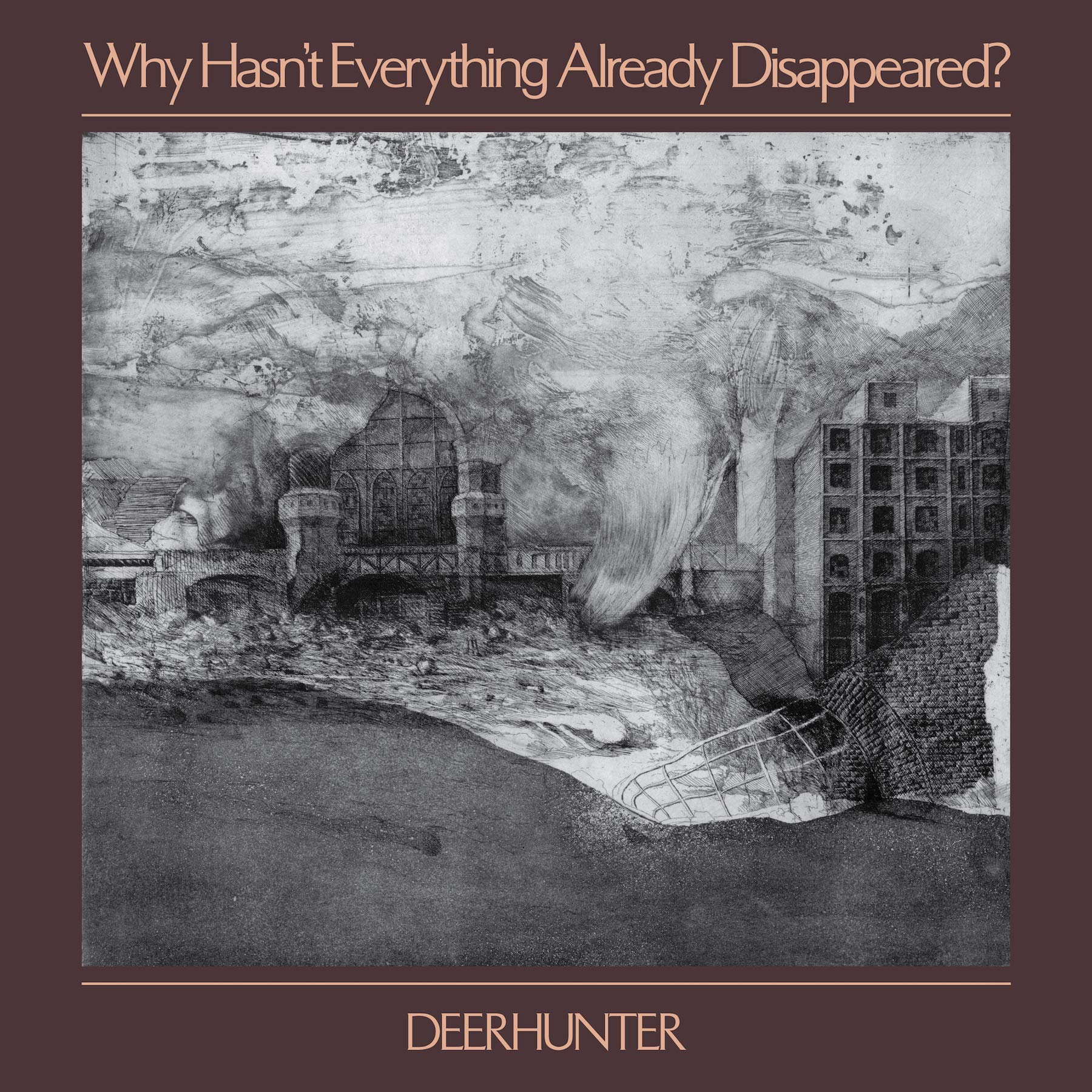 Vinilo : Deerhunter - Why Hasn't Everything Already Disappeared (LP Vinyl)