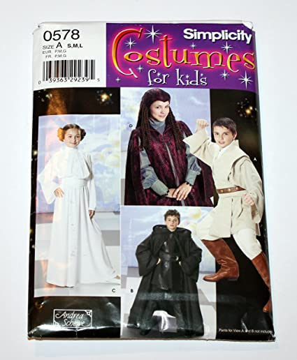 Amazon.com: Simplicity 4426 (0578) - Costumes for Kids - Star Wars ...
