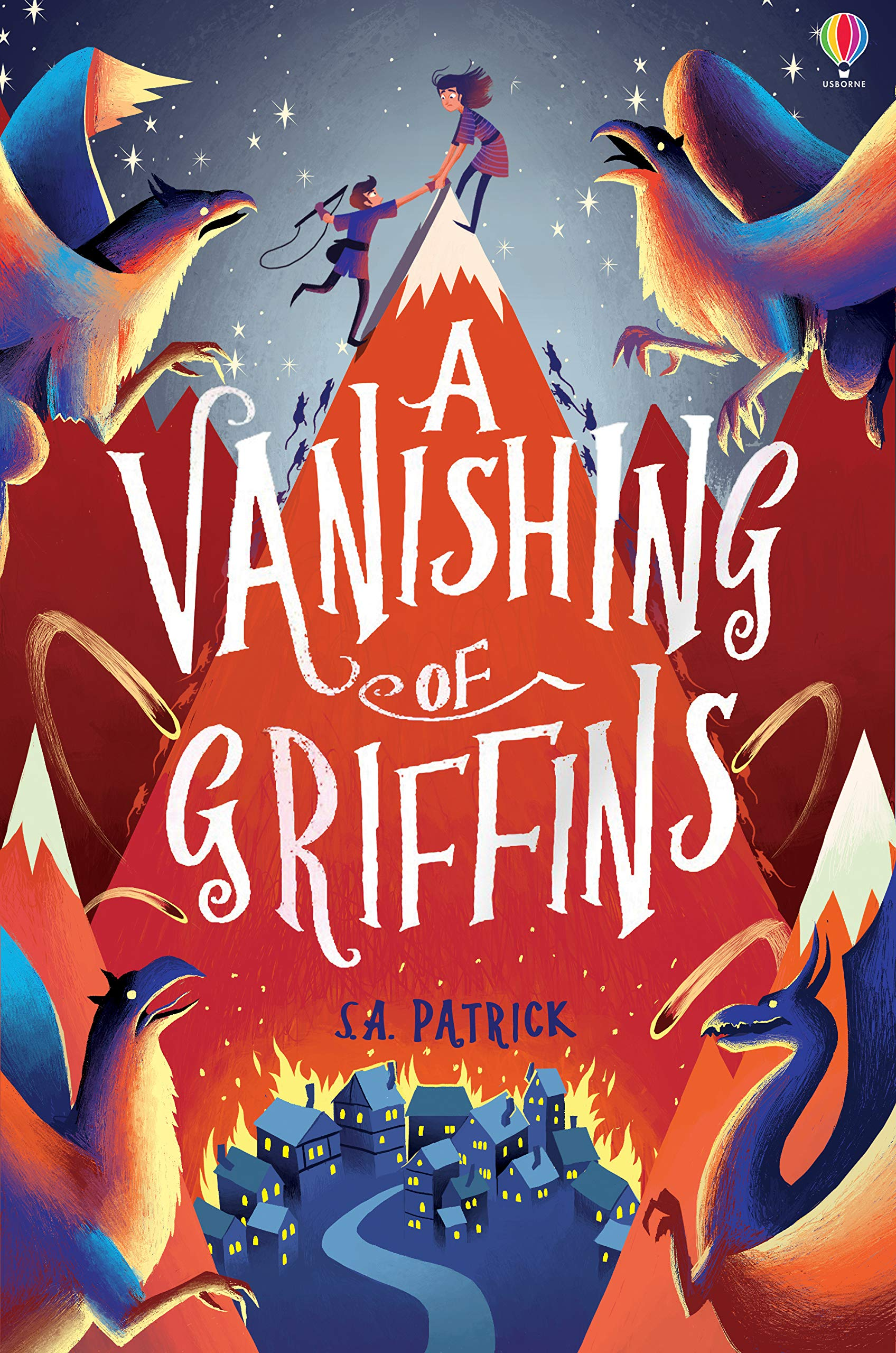 A Vanishing of Griffins (Songs of Magic): 1: Amazon.co.uk: S.A. Patrick:  9781474945684: Books