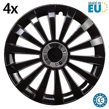 38/cm Cartrend Unitec 75478 Delta Enjoliveur Noir 16