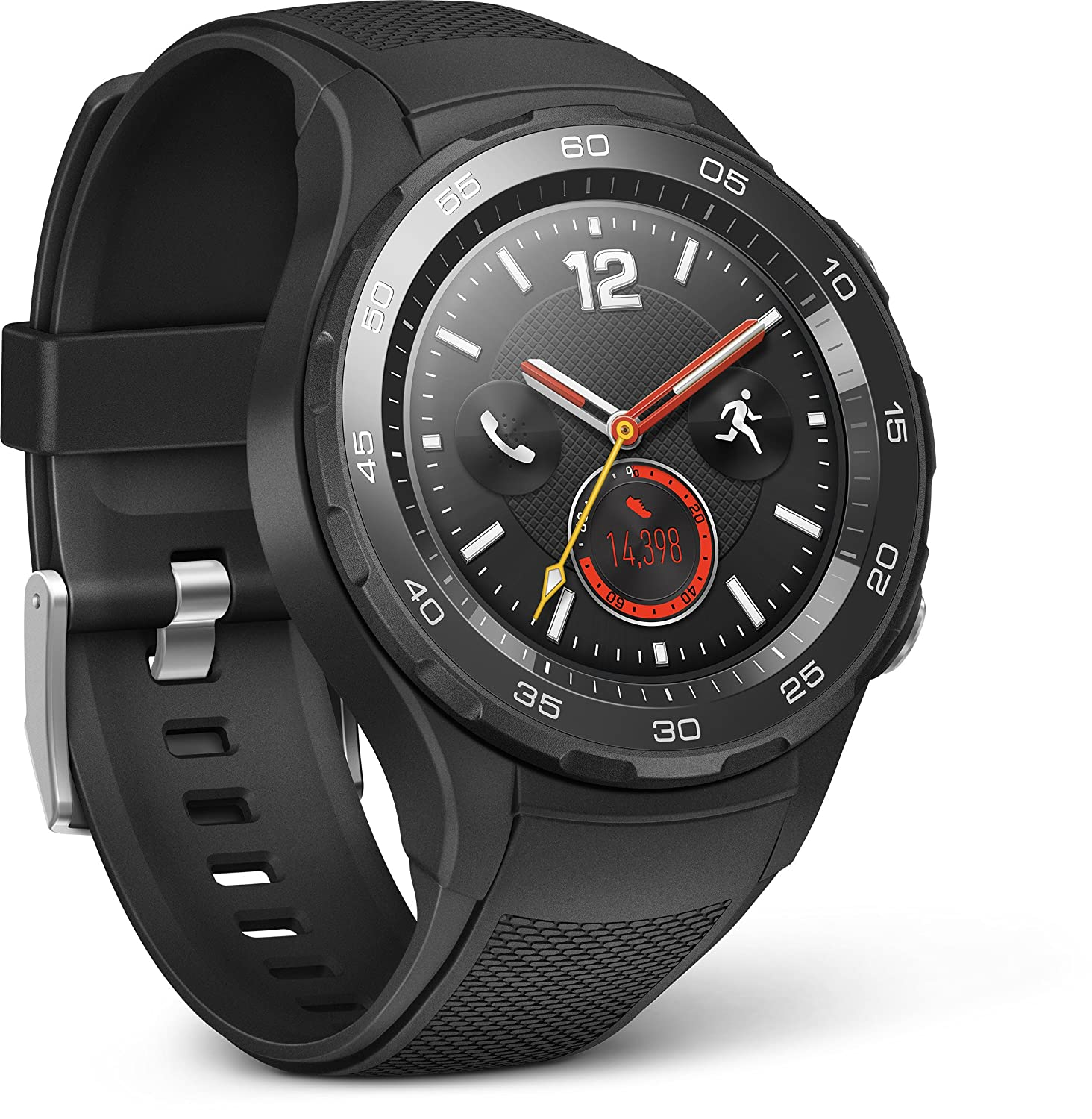 Huawei Watch Smartwatch Android Bluetooth WiFi G color negro carbon