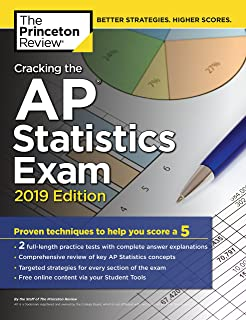 Amazon barrons ap statistics 9th edition 9781438009049 cracking the ap statistics exam 2019 edition practice tests proven techniques to help fandeluxe Choice Image
