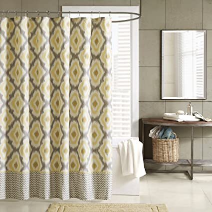 INK IVY II70 236 Ankara 200TC Shower Curtain 72 X 72quot