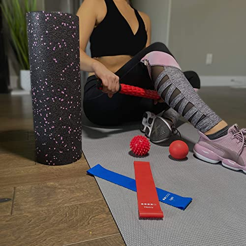 ALPHA28 7-in-1 High Density Foam Roller Set