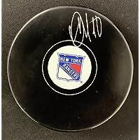 $137 » Artemi Panarin Signed Hockey Puck NY Rangers Winger Autograph NHL Fanatics Holo - Autographed NHL Pucks