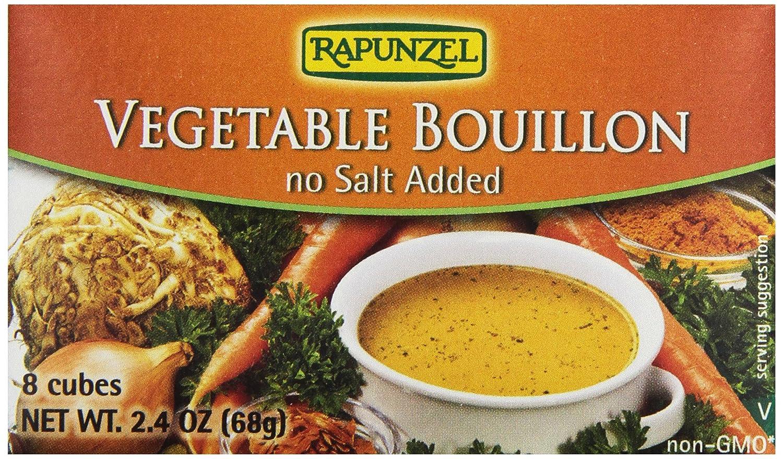 Amazon rapunzel pure organics vegetable bouillon no salt amazon rapunzel pure organics vegetable bouillon no salt addedlow sodium 24 oz grocery gourmet food forumfinder Image collections