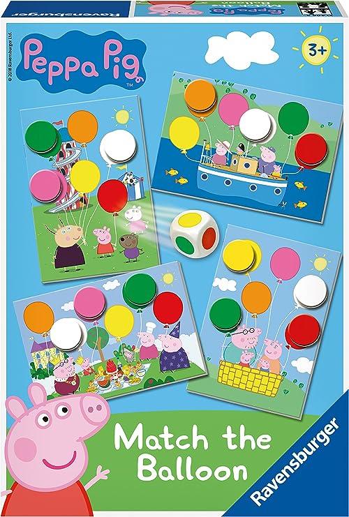 Ravensburger 21406 Peppa Pig - Juego de Mesa para niños (3 años): Amazon.es: Juguetes y juegos