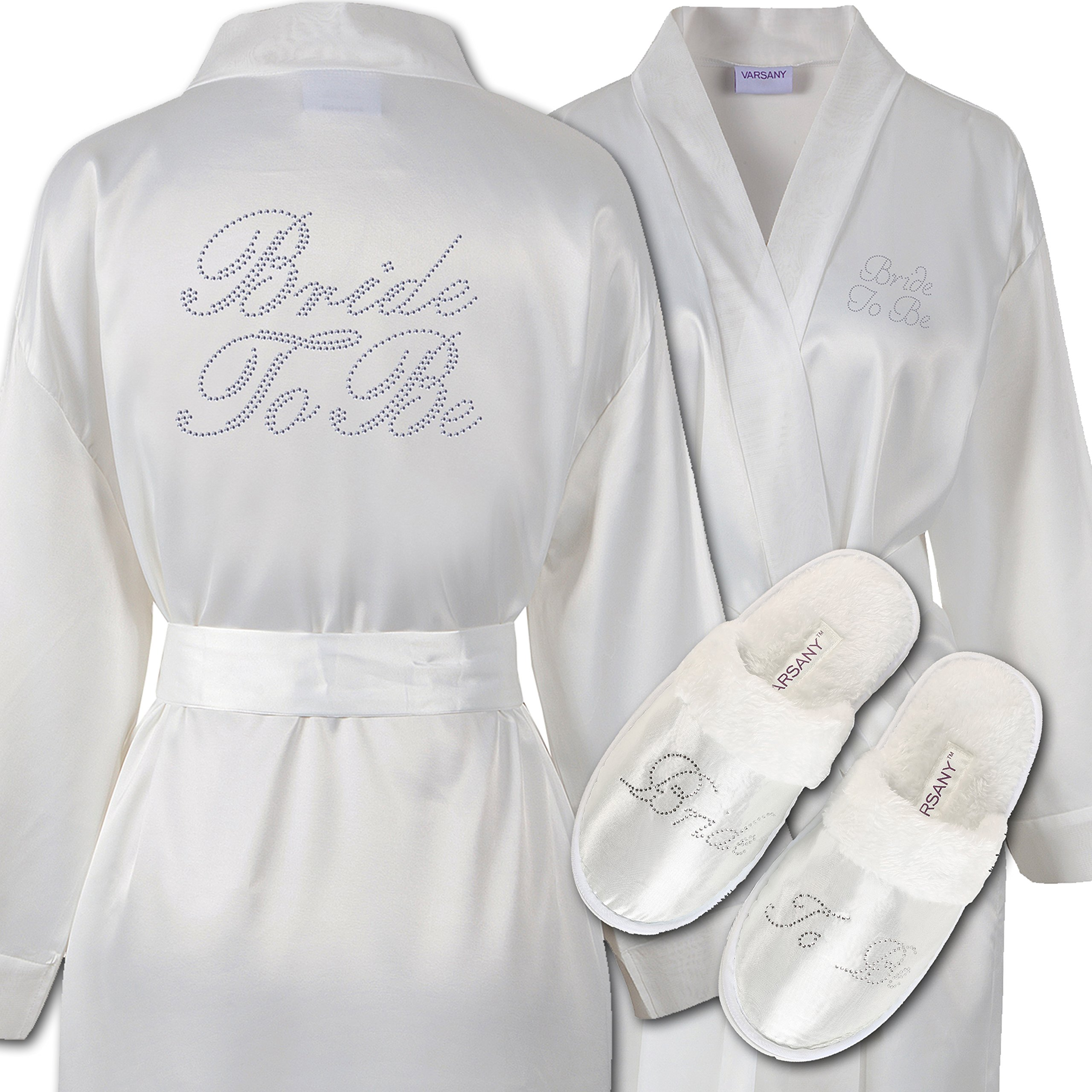 Dressing Gown and Slippers Set: Amazon.co.uk