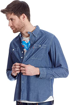 Levis Barstow Western Camisa para Hombre