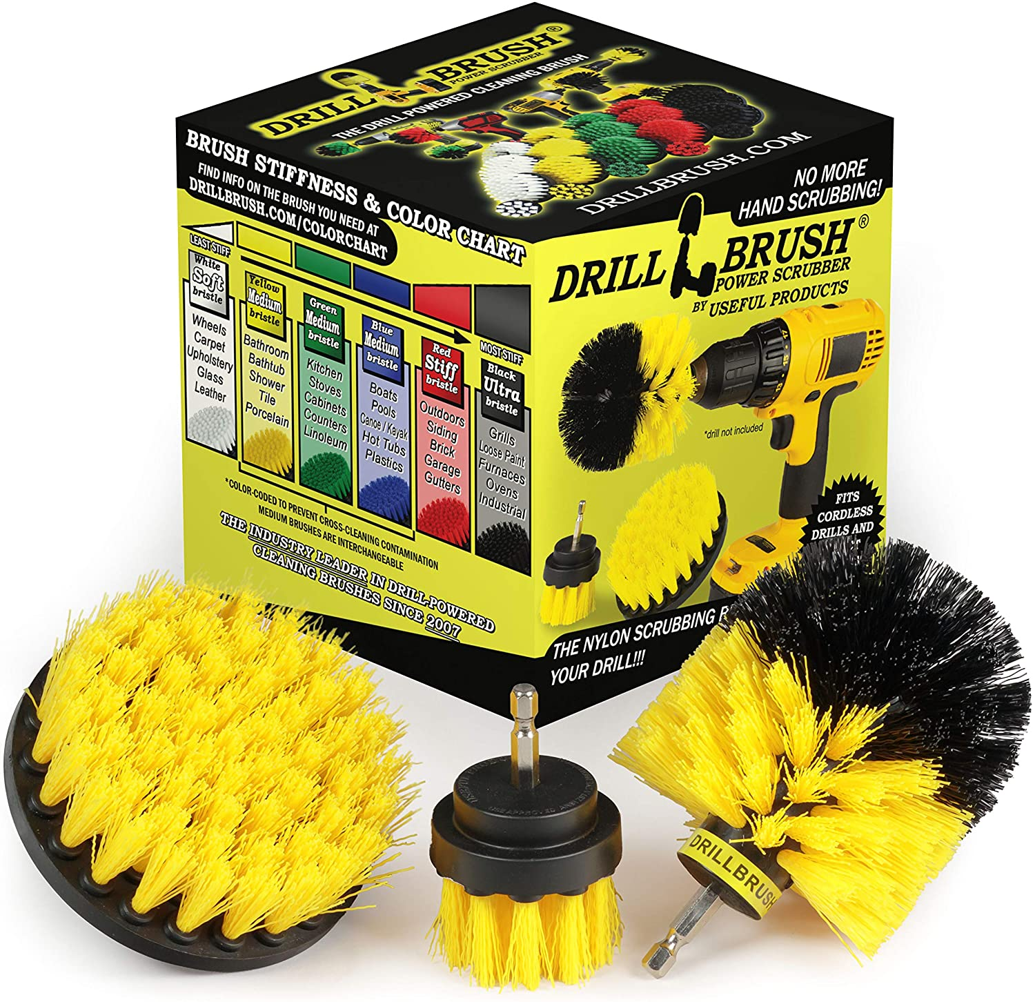 Drill Brush Cleaning Kit