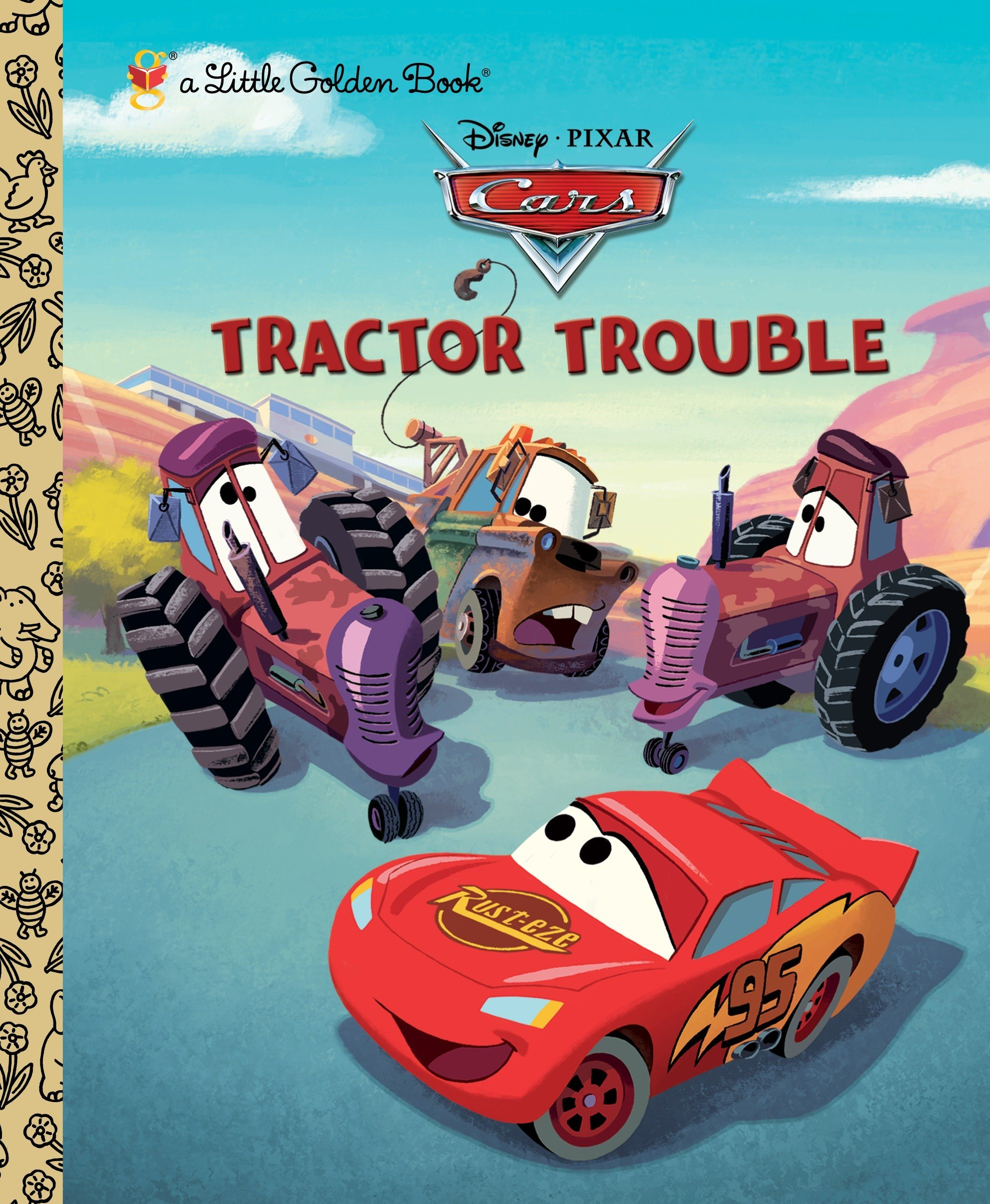 Download Tractor Trouble (Disney/Pixar Cars) (Little Golden Book) PDF