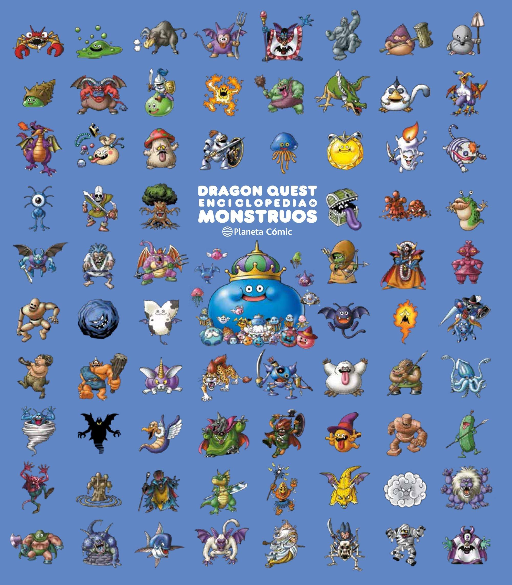 Dragon Quest Enciclopedia de Monstruos (Manga Artbooks) Tapa dura – 2 oct 2018 Akira Toriyama Daruma Planeta DeAgostini Cómics 8491733167