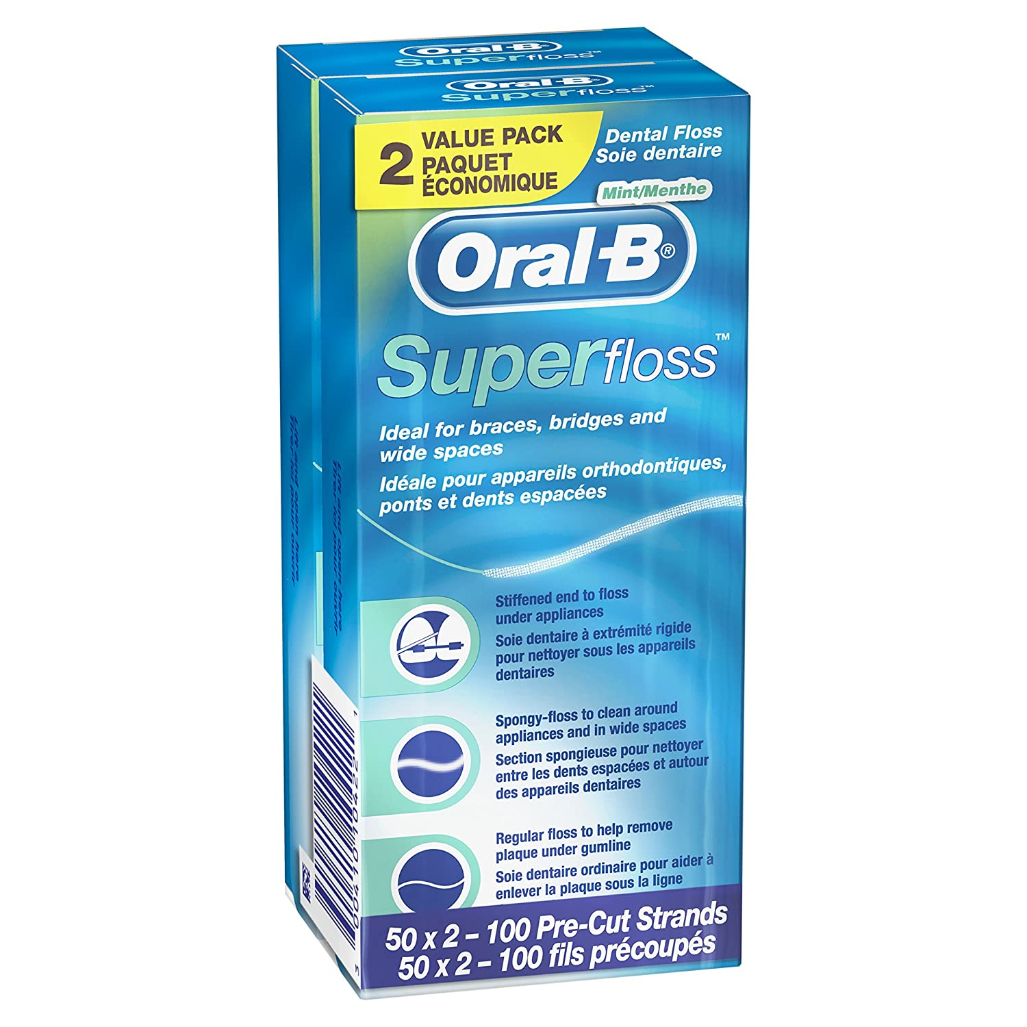Oral-B Super Floss Pre-Cut Strands