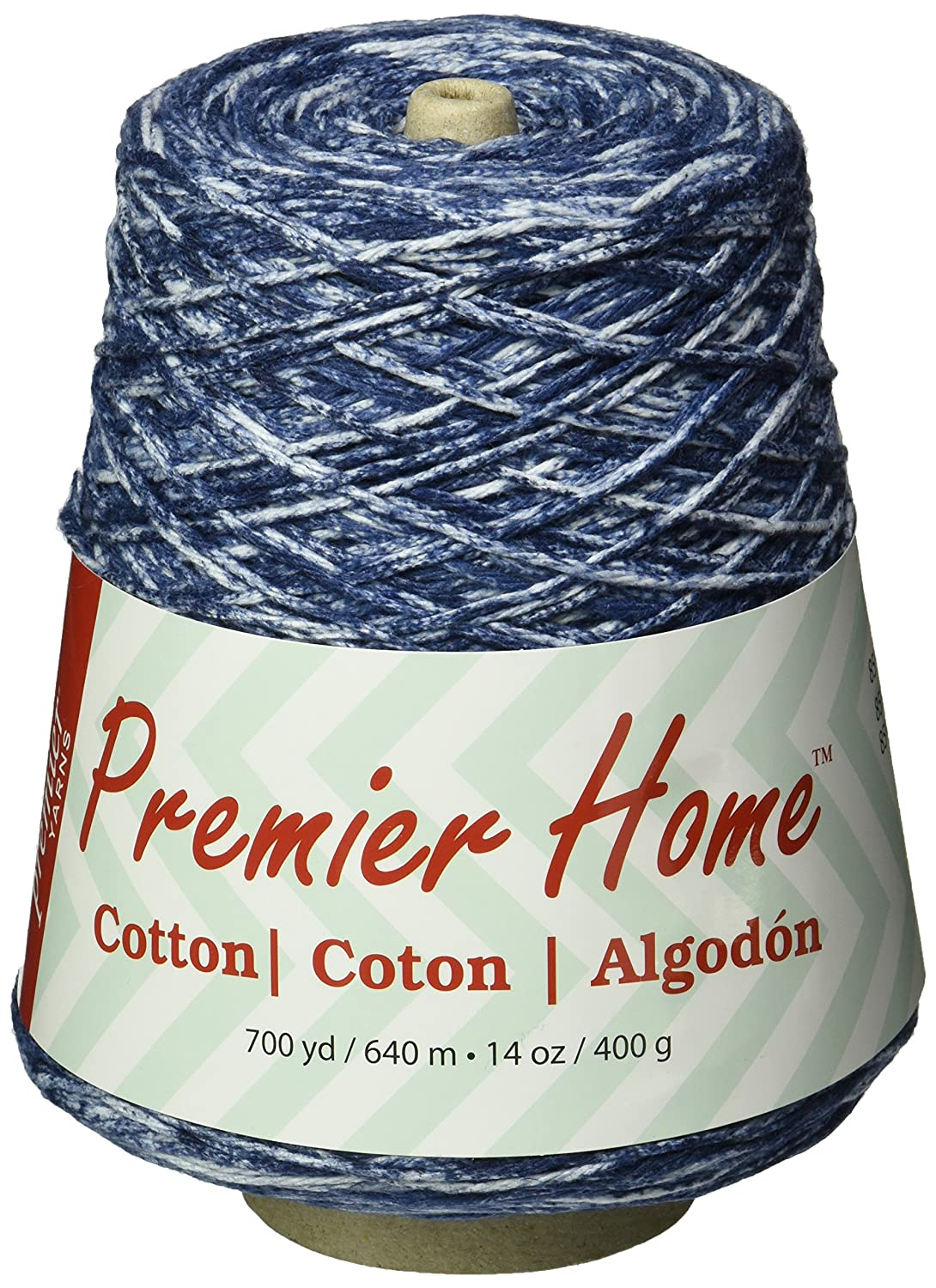 Premier Yarns 1032-02 Home Cotton Yarn - Multi Cone-Denim Splash