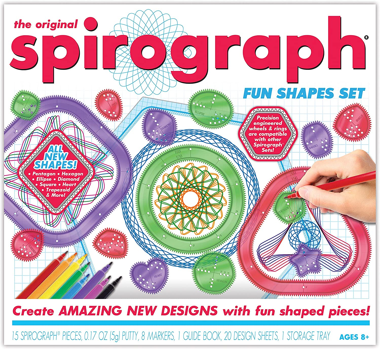Spirograph Design Tin Set.